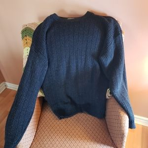 Tip Top Classic Navy Blue Sweater